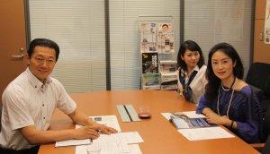 衆議院議員阪口先生にビルマの民主化支援についてお話を伺いました!